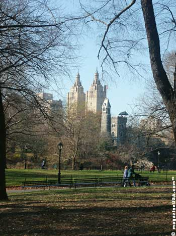 Central Park, is the 843-acre green oasis in the center of Manhattan