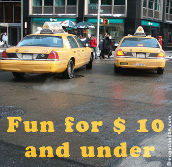Fun for $10 and under in New York City