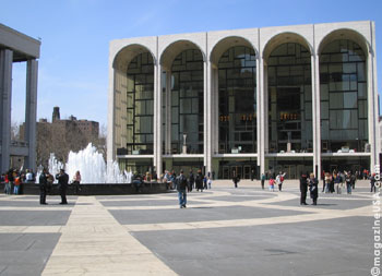 The Metropolitan Opera in NYC