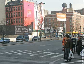 New York City's diverse shopping districts