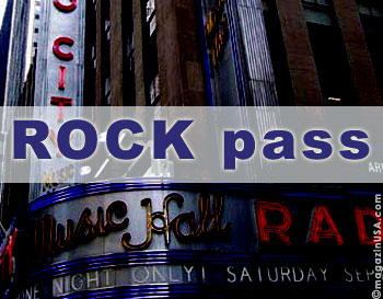 The 'Rock Pass' is valid for 3 attractions.