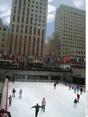 Rockefeller Center is a fascinating combination of linked indoor and outdoor spaces
