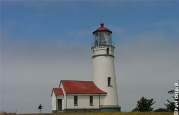 Cape Blanco Lighthouse, 1870, Oregon's Most Westerly, Oldest and Highest above the Sea