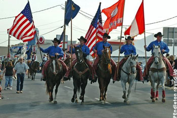 Flag Bearers in the Westward Ho