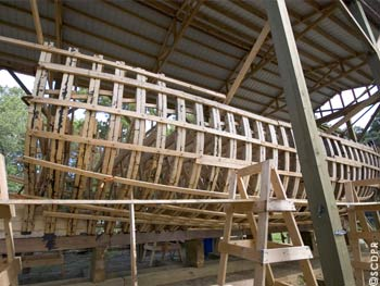 The Adventure, (under construction) a full-size and functional replica of the kind