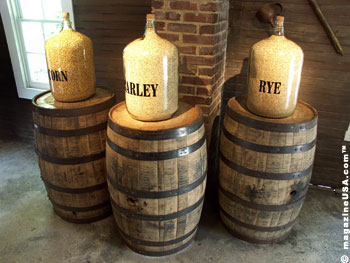 Corn, Rye and Barley are the main ingredients for Jack Daniel's Whiskey