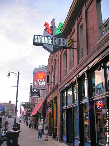 Beale Street is lined with Music Clubs