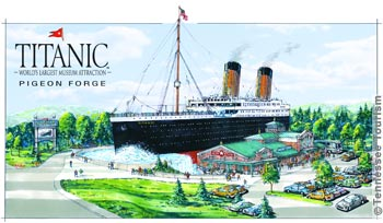 Titanic Museum In Pigeon Forge Tennessee