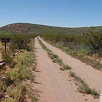 Improved Dirt Roads: Paint Gap Road requires a higher clearance behind the PG-3 Campsite