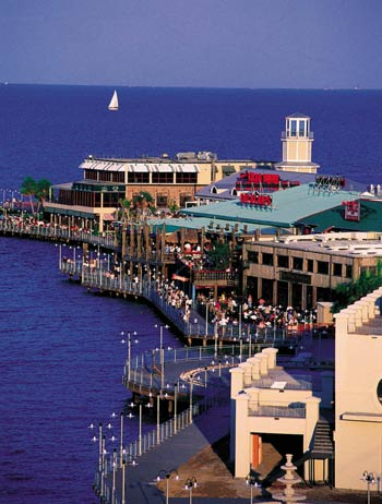 Travel Explore USA Houston Texas Houston Kemah Boardwalk
