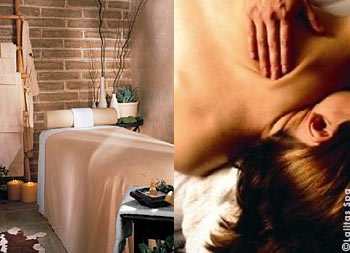 Romatic and healing elements of the Chihuahuan Desert are the foundation of treatments offered at the Agavita Spa at Lajitas Resort &Spa in West Texas.
