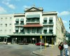 The Historic Hotel Menger at the Alamo Plaza was opened in 1859 by the German immigrant Wilhelm Menger