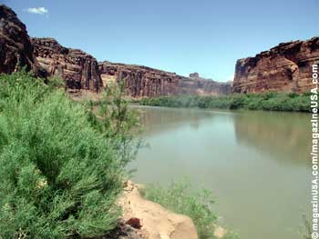 Colorado River near Moab, Utah Highway 279