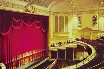 Capitol Theatre, Balcony and Stage