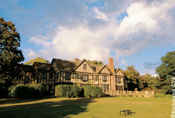 Agecroft Hall was originally built in the 15th century