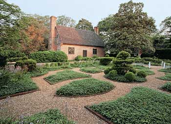 The Adam Thoroughgood 17th-century home is one of the oldest brick homes in the country.