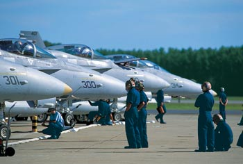 Nine squadrons of F-14 Tomcats are based at Virginia Beach's NAS Oceana master jet base, one of only two in the country.
