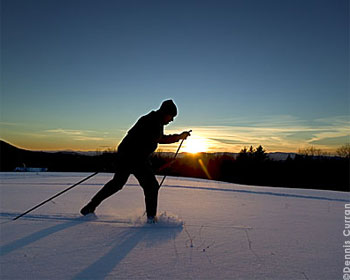 Vermont has the longest cross-country ski trail in America