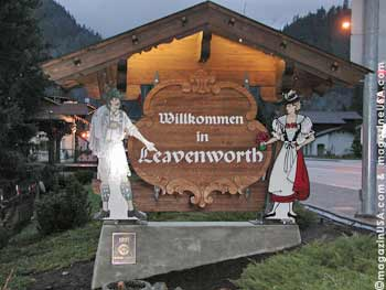 Leavenworth is one of the most authenic Bavarian villages in the US