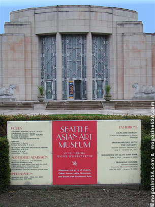 Seattle Asian Art Museum houses the largest collections of Japanese, 