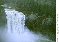 The Snoqualmie Waterfalls are higher than the Niagara Falls