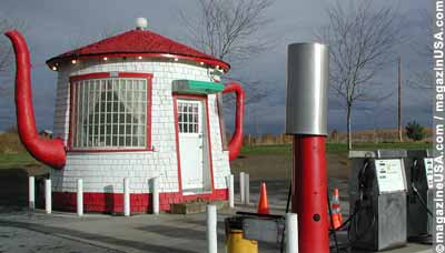 Tea Pot Dome in Zillah, Washington State