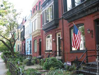 Row houses on Capitol Hill