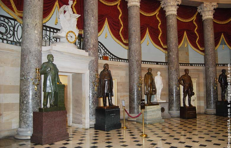 A tour of the Capitol provides unique views into many beautiful and historic rooms