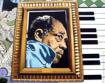 Travel explore usa washington d c district of for Duke ellington mural