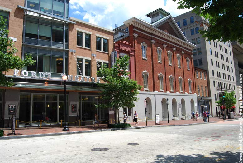Ford's Theatre was the location of the assassination of Abraham Lincoln