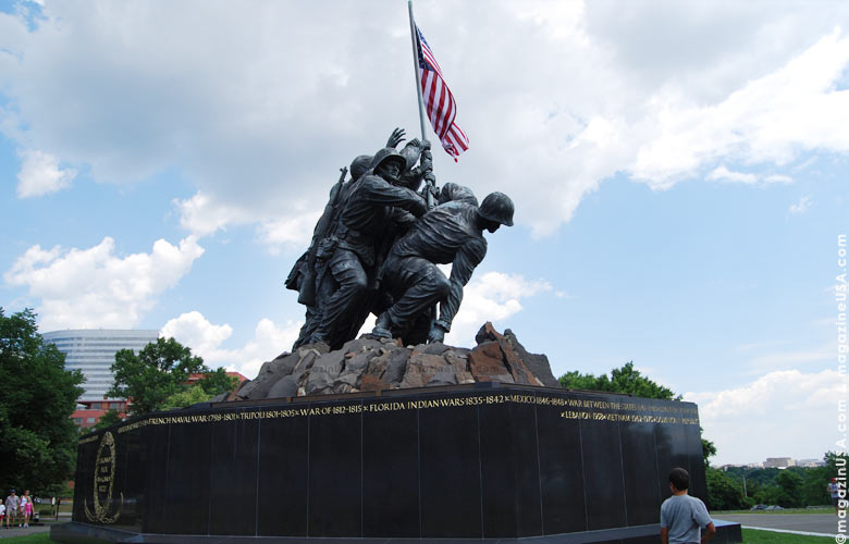 In honor and in memory of the men of the United States