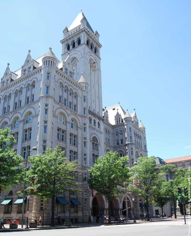 The Old Post Office Pavilion on Pennsylvania Avenue
