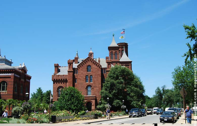 Known as the Castle, the oldest of the 14 Smithsonian museums in Washington houses the crypt of founder James Smithson