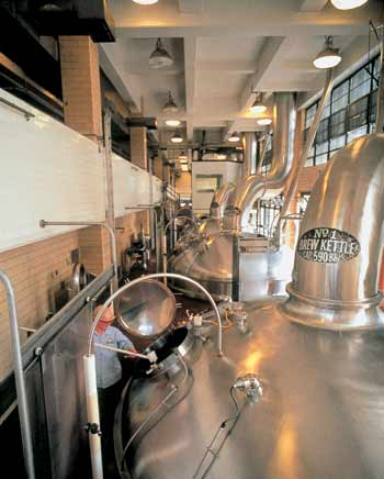 Miller Brewing Company is Milwaukee's largest brewer, producing more than six million barrels of beer each year.